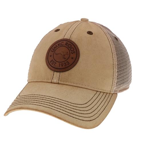 4c84fbb19 UMKC Roos Off White Trucker Hat Osfa Off White