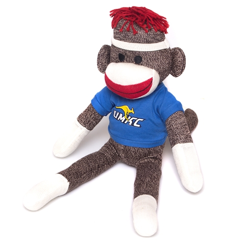 "UMKC Roo 20"" Sock Monkey"