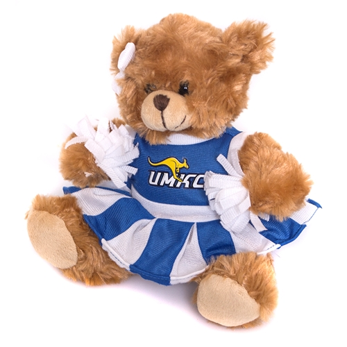 UMKC Plush Cheerleader Bear