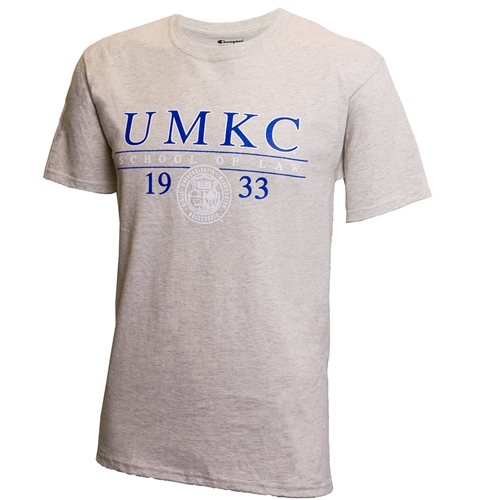 UMKC School of Law 1933 Offical Seal Off White T-Shirt