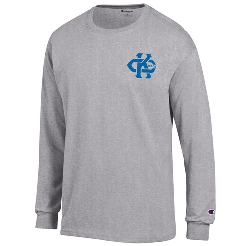 UMKC Roos Kansas City Grey Crew Neck Shirt